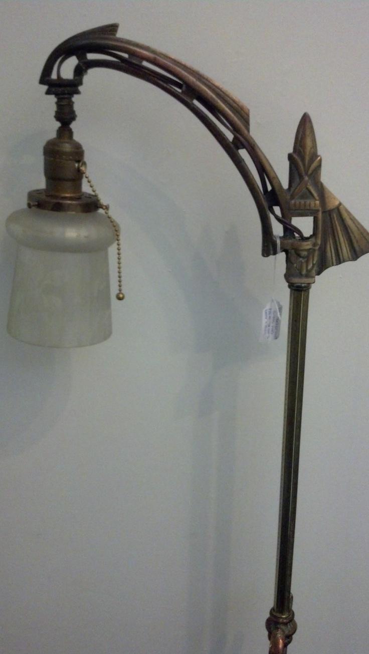 1940s Floor Lamp 265 Antique Lighting Pinterest