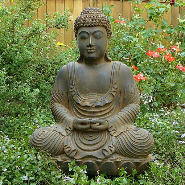 Meditating Garden Buddha