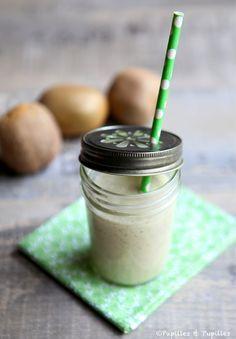 Smoothie kiwis lait de coco - Kiwi cocomilk smoothie