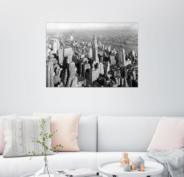 Wandbild »New York 1932, Blick auf das Chrysler Building« #Products