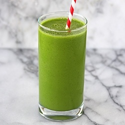 Green Smoothie. I just made this smoothie and it was amazing. I think its my favorite too.