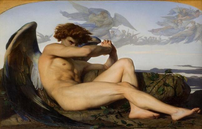 A. Cabanel - L'ange déchu