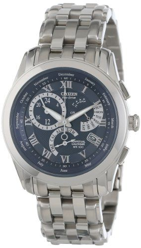 Citizen Men's BL8000-54L Eco-Drive Calibre 8700 Perpetual Calendar Watch >> $271.95 << | Your #1 Source for Watches and Accessories
