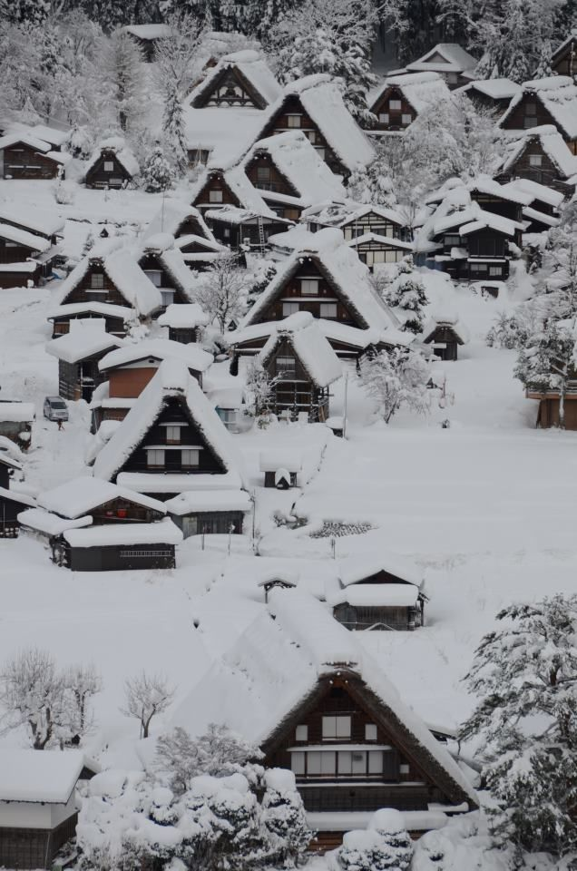 Shirakawa-go #japan #gifu