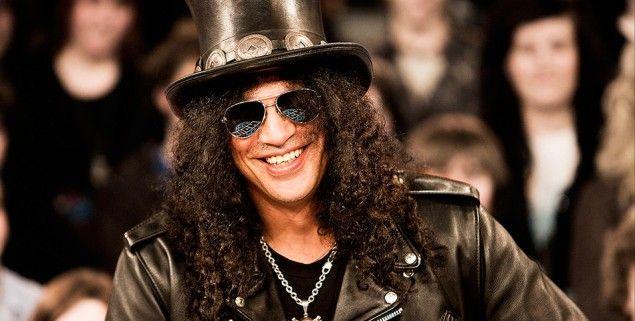 ¡Emotivo! Guitarrista Slash envió un mensaje al pueblo venezolano. http://urlcloud.us/H3li