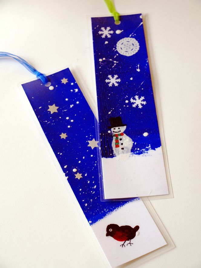 Christmas Bookmarks from Artful Adventures