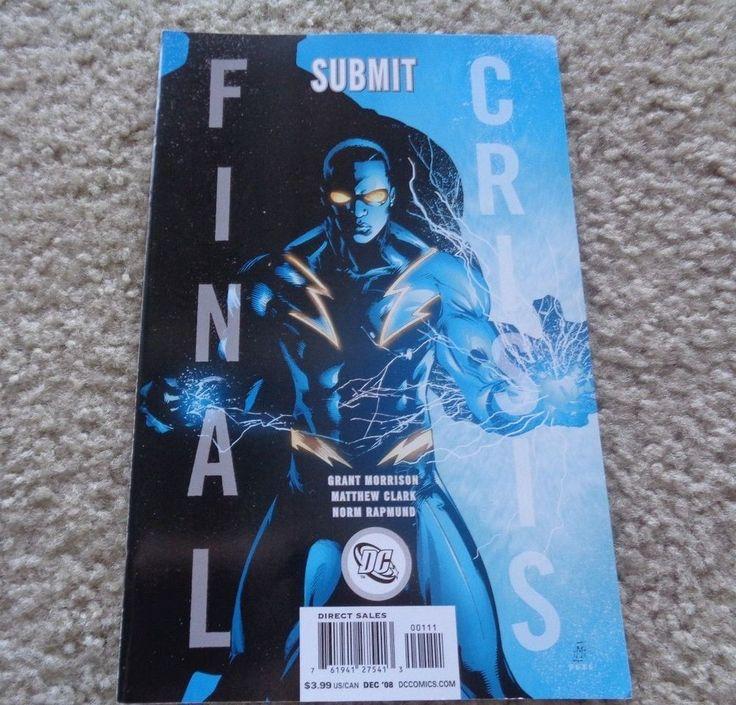 DC Comics Final Crisis Submit December 2008