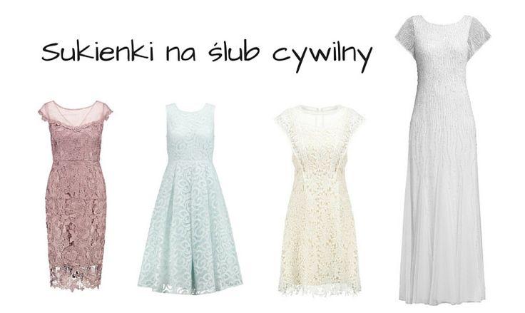 Sukienka na ślub cywilny - TOP 20 | fitandfashion.pl