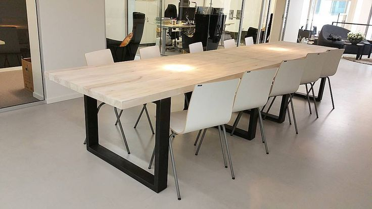 norsk kubbestol ~ love how the table looks at its new home at sf norway #
