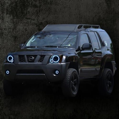 2005-2015 Nissan Xterra ColorMorph Halo Headlight Kit by LED Concepts