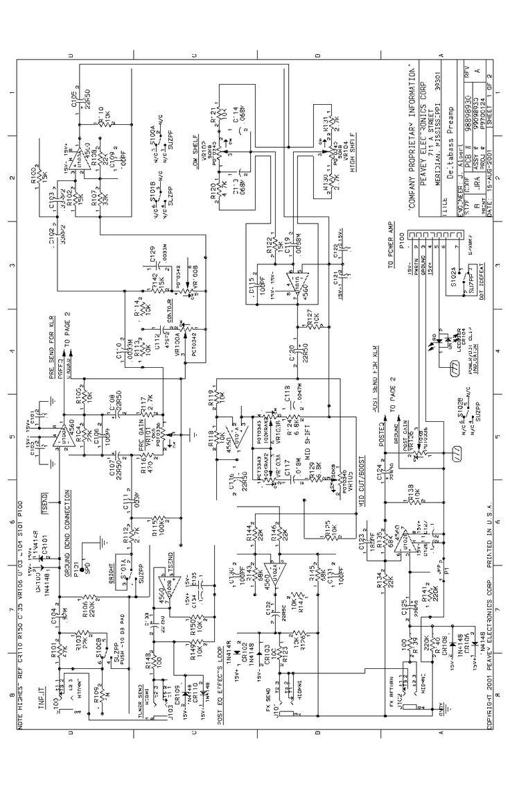 PEAVEY NASHVILLE 400 Service Manual download, schematics