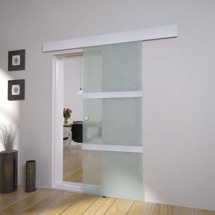 Schiebetür selber bauen ohne bodenschiene  Die besten 25+ Zimmertüren mit glas Ideen auf Pinterest | Glastür ...