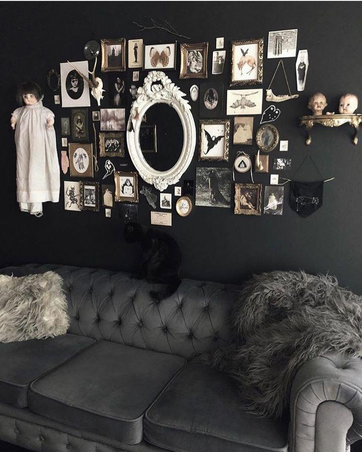 Haute Macabre | Goth home, Gothic interior, Gothic home decor |Macabre Interiors