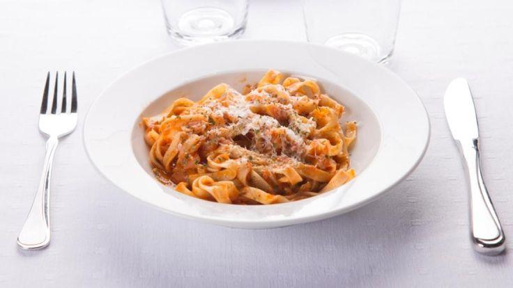 Oppskrift på Pasta arrabiata (Sinna pasta)
