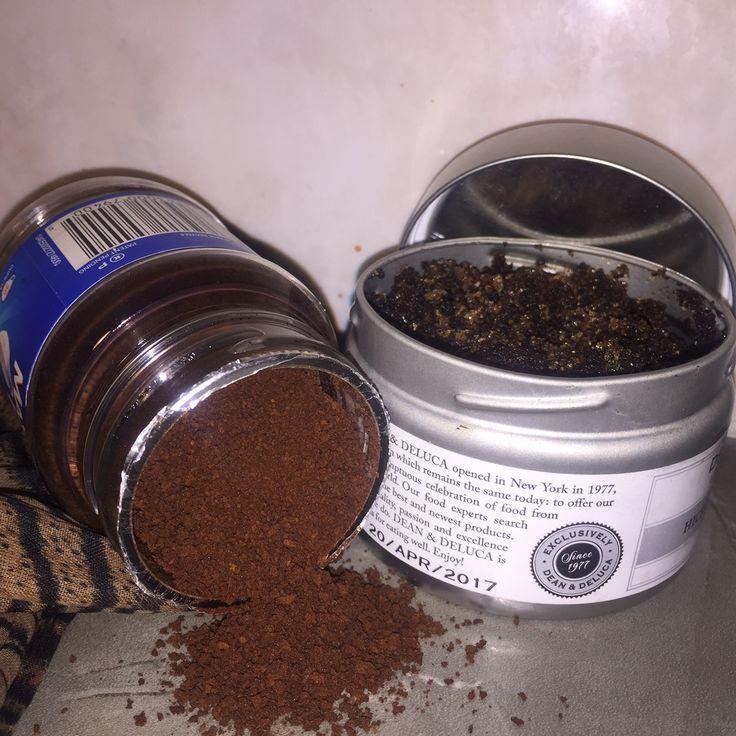 Love Your Skin Ground Coffee Body Scrub Coffee body