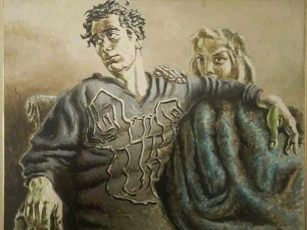 Alberto Savinio - Orfeo e Euridice - 1951 - Galleria d'arte moderna di Palazzo Pitti,