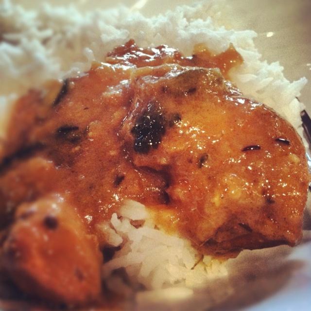 Mom's chicken korma. #food #pakistani