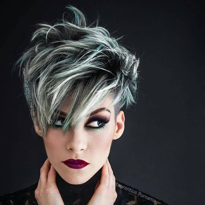 Gray Hairstyles 40 women with beautiful middle long gray hairstyles Find This Pin And More On 50 Shades Of Going Gray By Shelolly