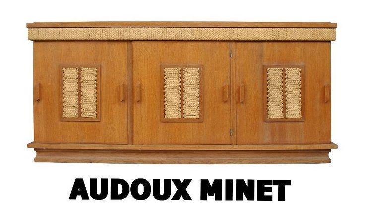 bahut bas enfilade maison Audoux-Minet à Paris