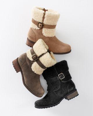 a61c1c6b959 UGG® Blayre Cuffed Boots | wish list. | Boots, Uggs, Boot cuffs