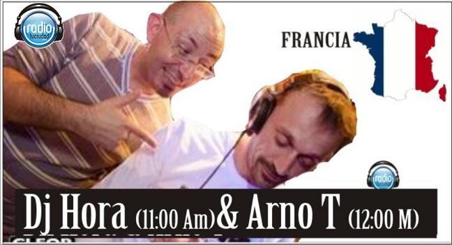 Dj Hora +Arno T Desde Francia en VIVO Por LA BASICA www.radiotuciudad.com