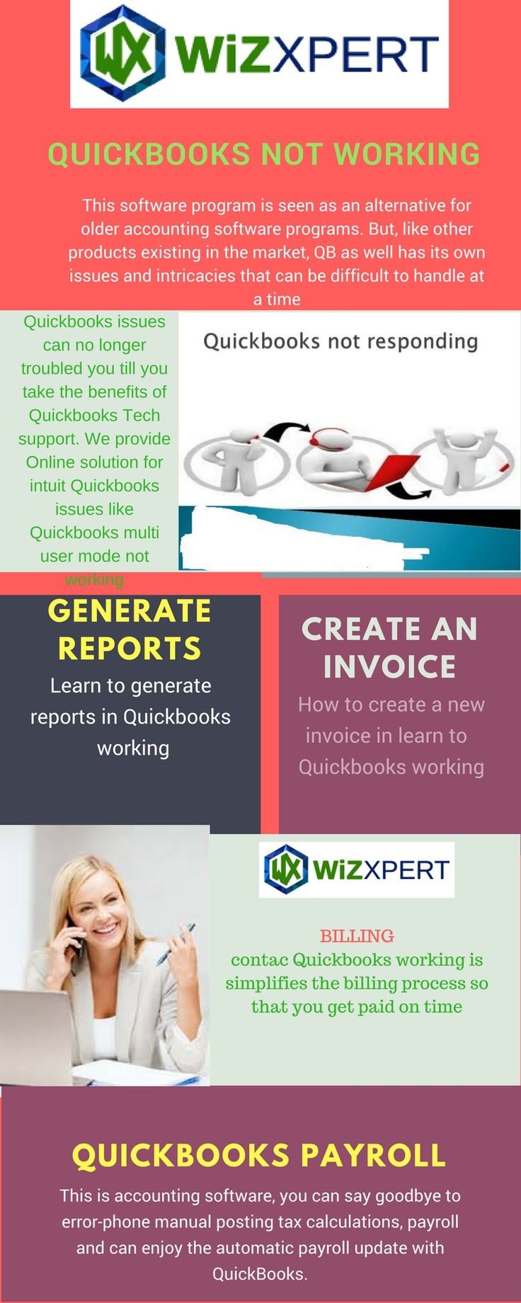 17 best quickboooks infographics images on pinterest accounting quickbooks multi users is not working at a same time in this situatione fandeluxe Gallery
