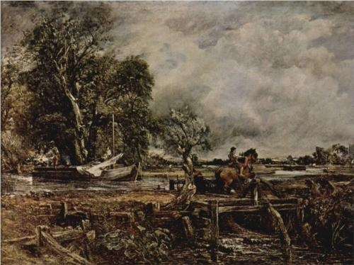 The Leaping Horse - John Constable