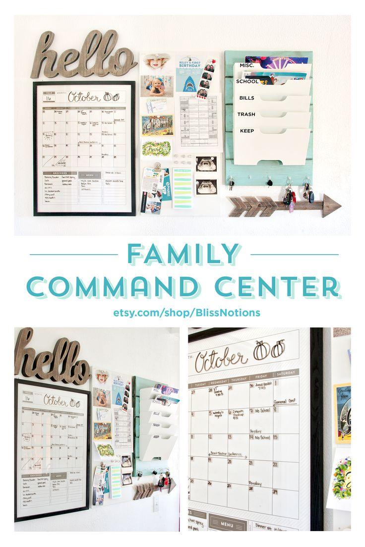 Family Wall Calendar Ideas : Ideas about family calendar organization on
