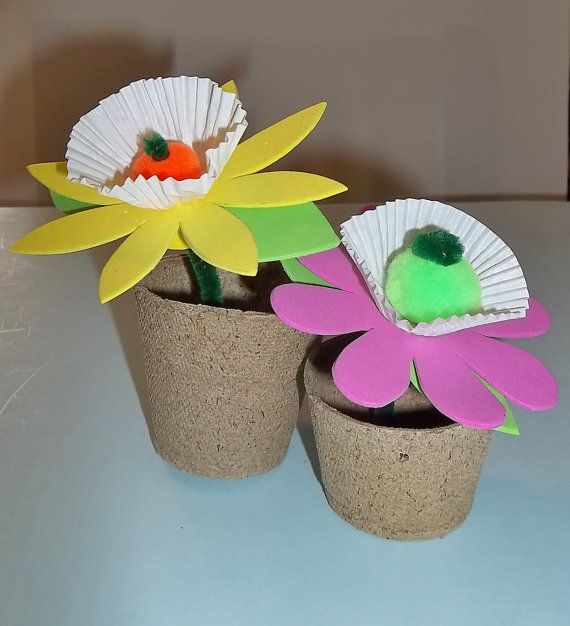 Home Craft Ideas Easter Bunny Flower Pot Craft Flower Pot: 17 Best Images About Kids Crafts For Spring On Pinterest