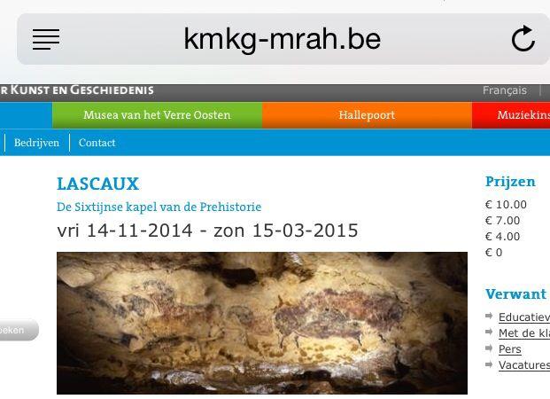 Lascaux - Jubelpark tot maart 2015