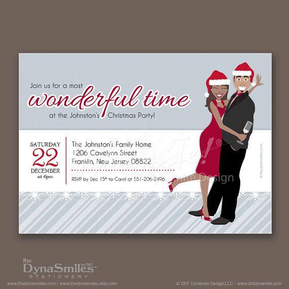 Work Christmas Invitations as perfect invitation design