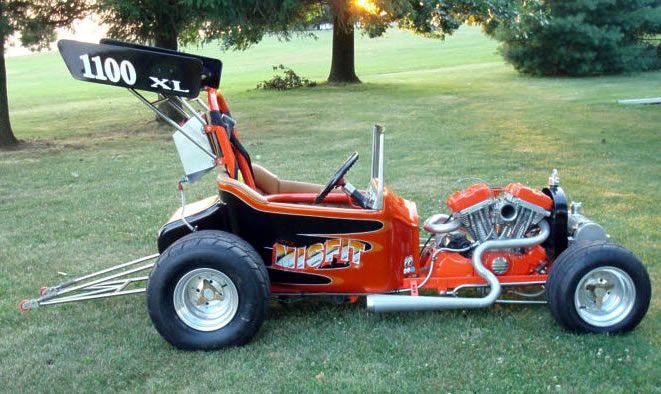 Battery Powered Go Kart >> Harley Sportster powered T bucket roadster   Wheels   Pinterest   Buckets, Deco and Roads