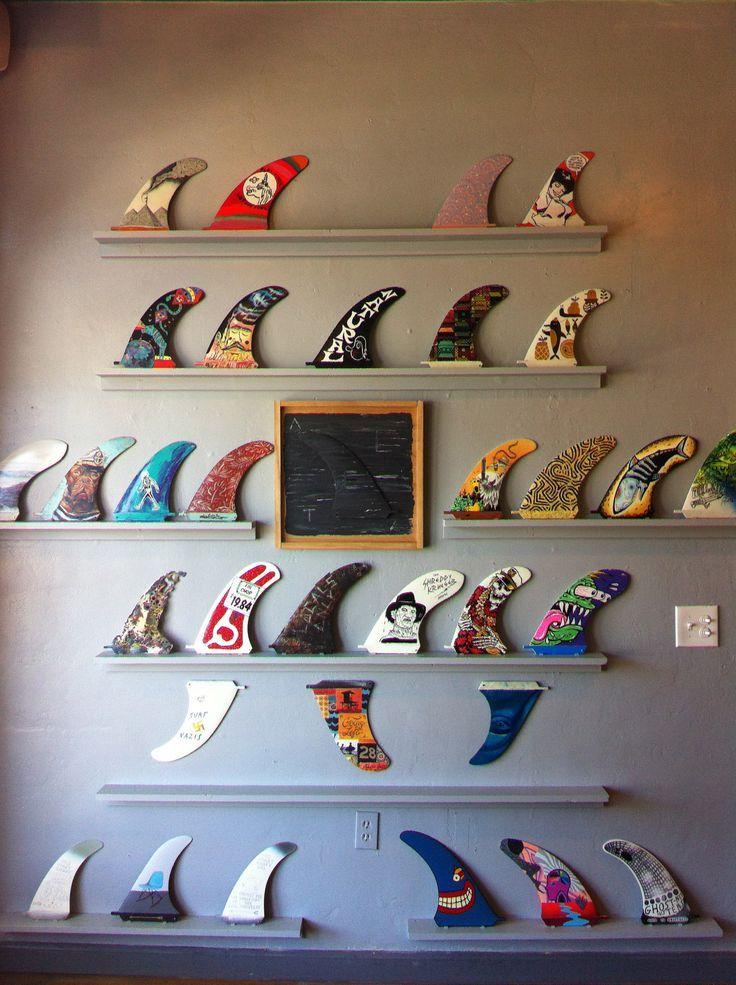 Les 25 meilleures id es de la cat gorie planches de surf sur pinterest conc - Decoration planche de surf ...