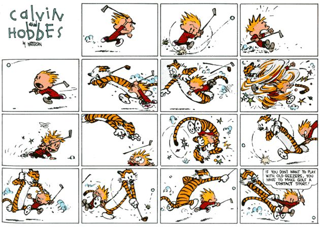 Bill Watterson I'm pretty sure is a primary influence of every cartoonist born after 1970