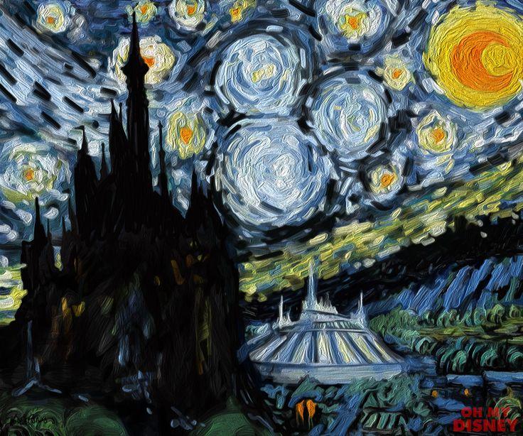 Disney Night, inspired by V
