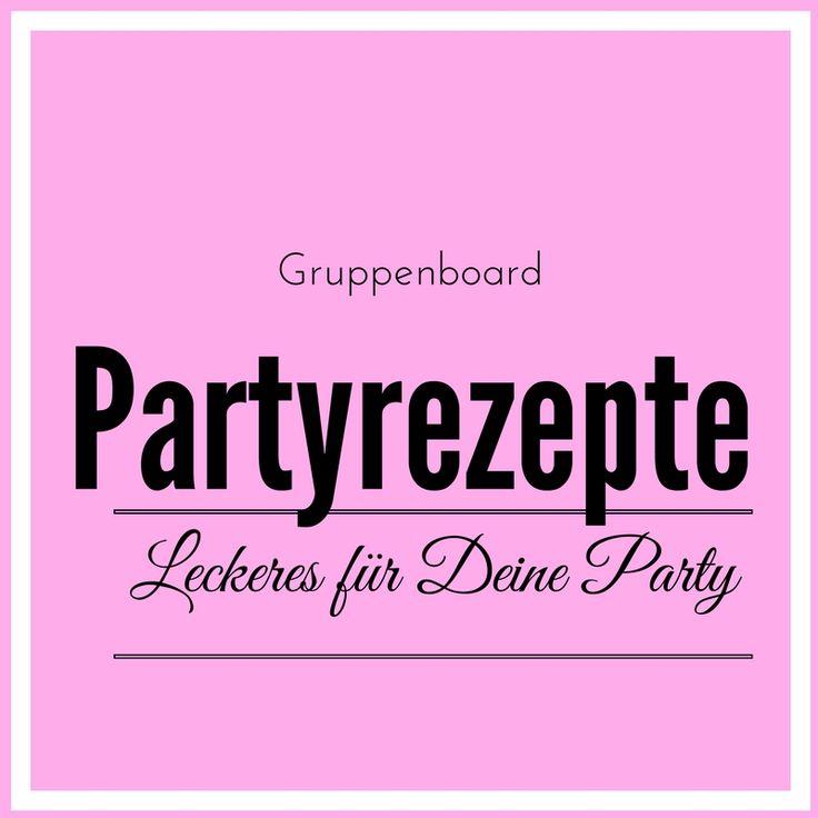 Auf dem Board darf alles Leckere für die Party gepinnt werden, wie z.B. Blätterteighappen, Zupfbrot, kalte Platten und viel mehr. Wer mitmachen möchte schreibt mir eine Nachricht.