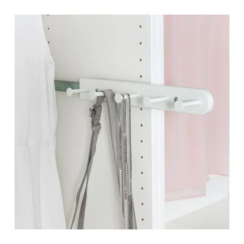 KOMPLEMENT Uittrekbare multihanger wit 35 cm Ikea
