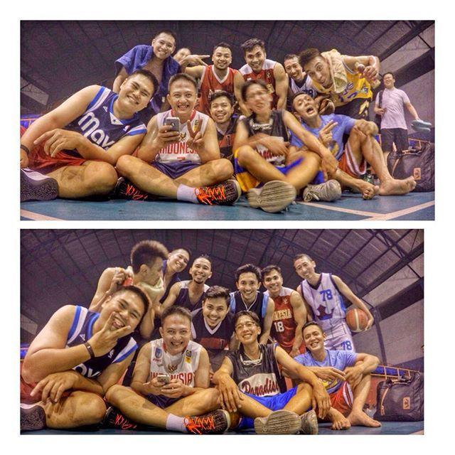Olahraga Malam #latepost#senayan#hallA#jkt#basketball#teamska21