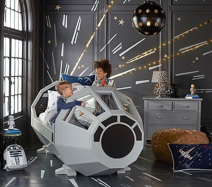50 best Jon StarWars room decor images on Pinterest Starwars - star wars bedroom ideas