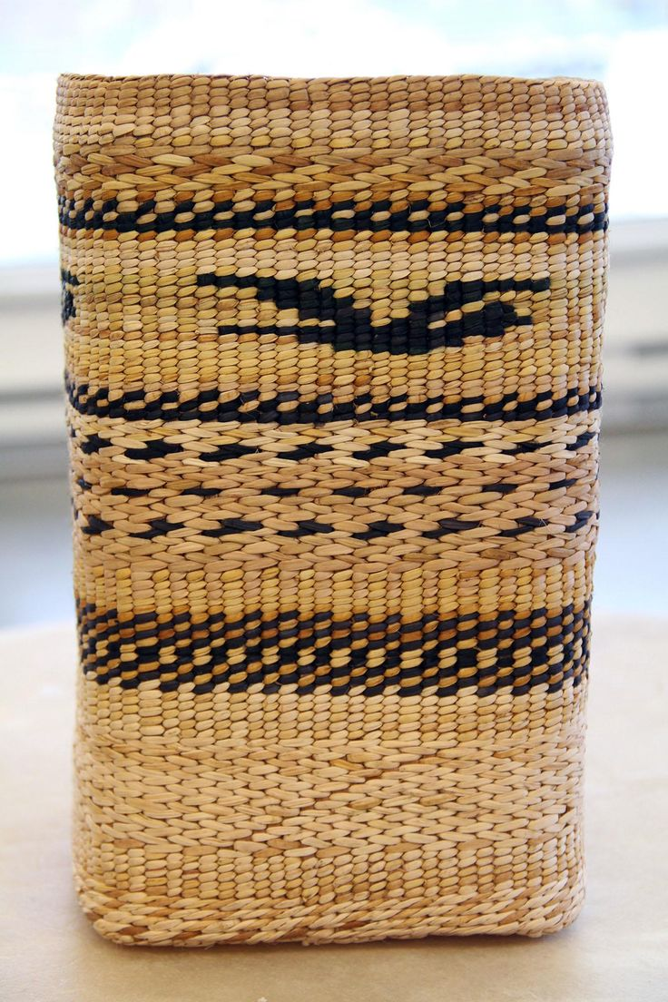 How To Weave A Cedar Basket : Images about cedar bark baskets weaving on