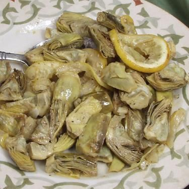 Baby Artichokes in Wine and Garlic, Cooking with Nonna