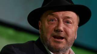 Police attend George Galloway 'glitter' incident at Aberdeen University