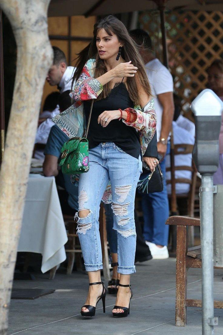 Sofija Vergara: pocepani džins i mnogo detalja
