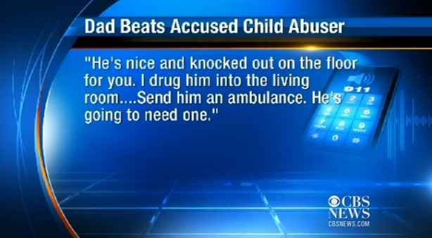 """Father Says """"Send An Ambulance"""" In 911 Call After Beating Son's Alleged Rapist."""