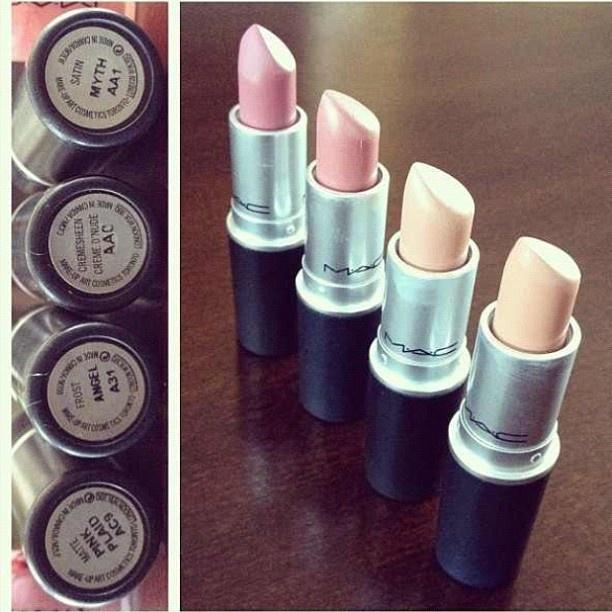 neutral MAC lipstick..just bought Myth! Love it