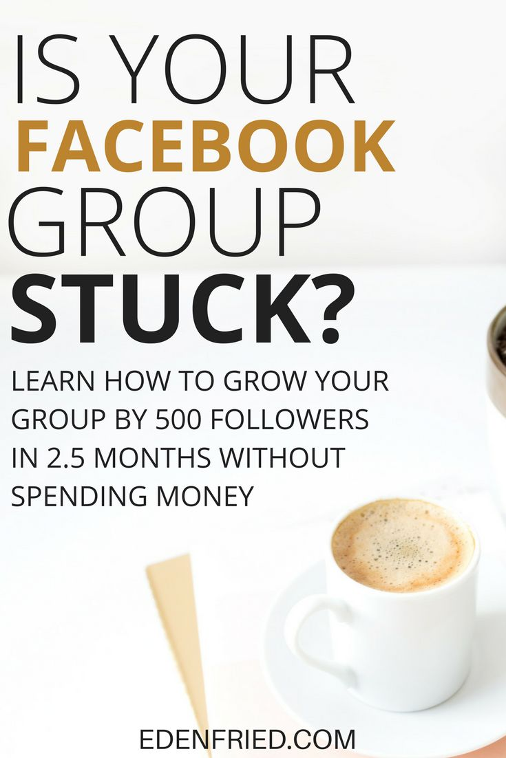 Learn how to grow a facebook group from 0 to 500 members in less than 3 months. If you're struggling on how to get people to join your Facebook group, this solution is for you.