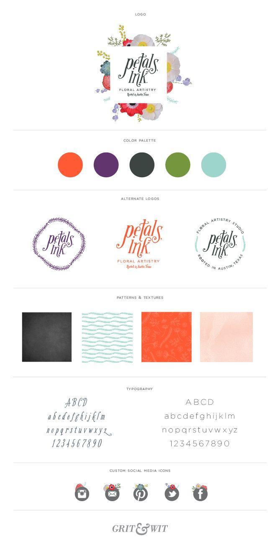 Petals, Ink Brand Reveal || Grit & Wit