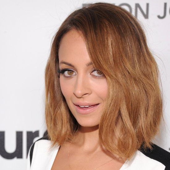 Nicole Richie spills her secrets on getting, and maintaining, the perfect lob. #hair