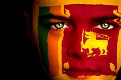 Vlag van Sri Lanka