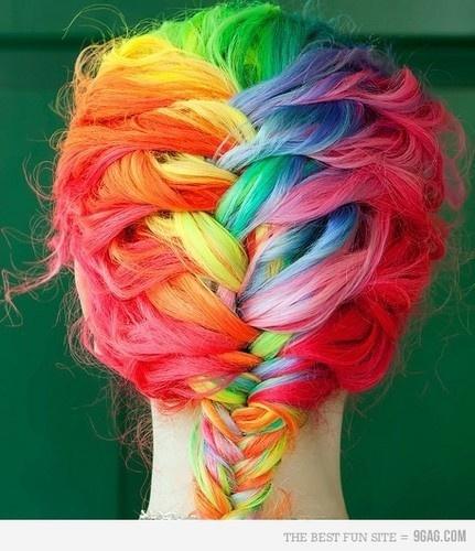 Wear the rainbow. @Agung We